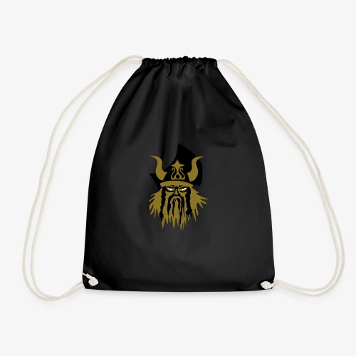 Viking warriror by Patjila - Drawstring Bag