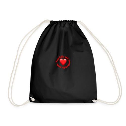 coeur rouge - Sac de sport léger
