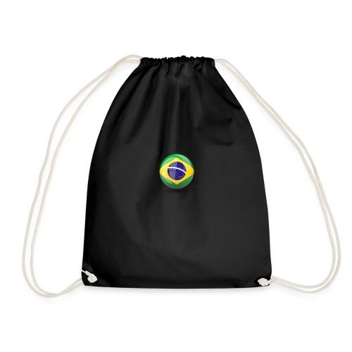 Símbolo da Bandeira do Brasil - Drawstring Bag