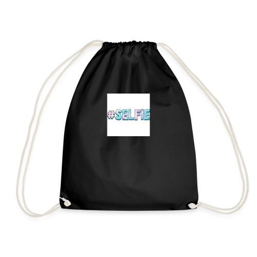 #selfiemerch - Drawstring Bag