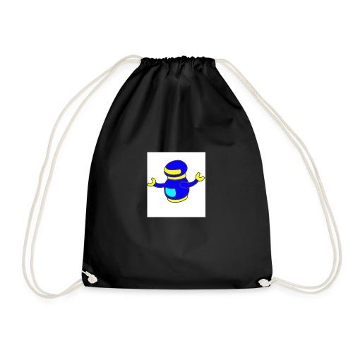 bluerobo1 - Drawstring Bag