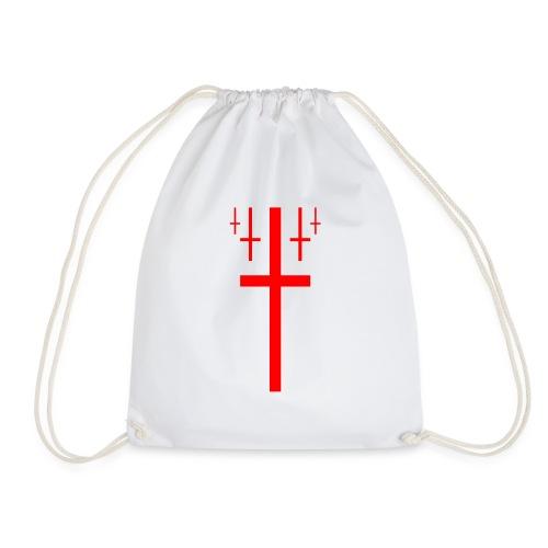cross christus god jesus - Drawstring Bag