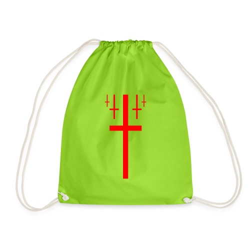 cross christus god jesus - Drawstring Bag
