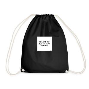 Big Boss said no - Drawstring Bag
