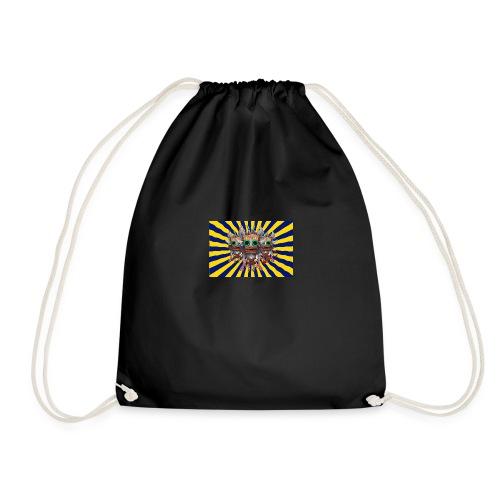 Mind Bending Tiki Warriors - Drawstring Bag