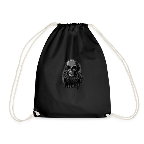 Skull in Chains - Drawstring Bag