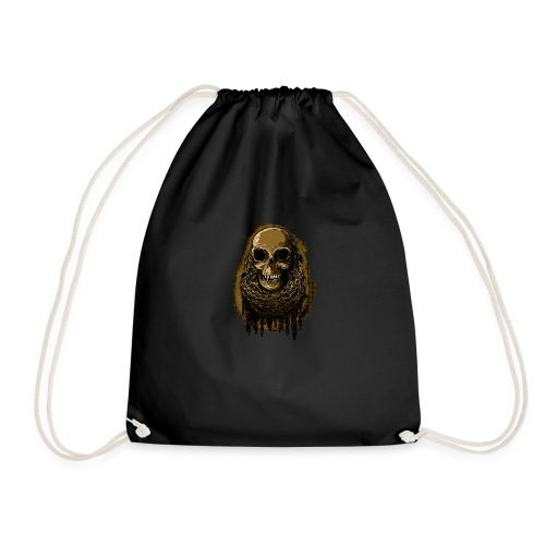 Skull in Chains YeOllo - Drawstring Bag