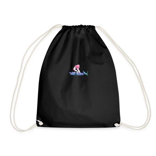 summer rain - Drawstring Bag