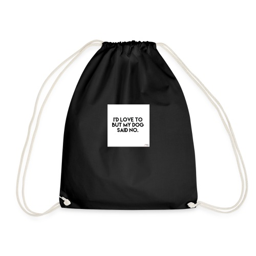 Big Boss said no - Drawstring Bag