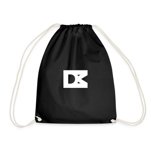 DMBart White Logo - Gymtas