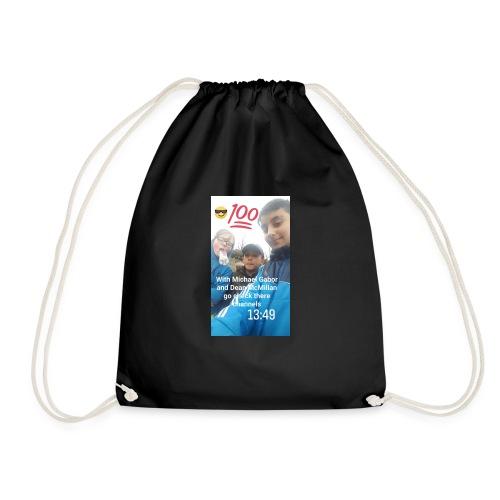alex,michal,dean - Drawstring Bag