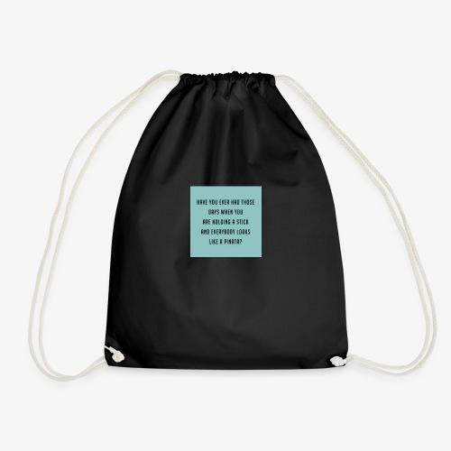 Piñata Slogan T-Shirt - Drawstring Bag