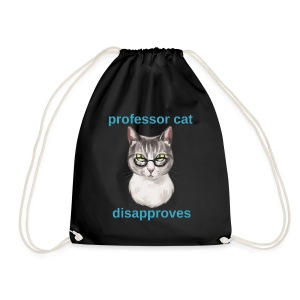Professor Cat - Turnbeutel