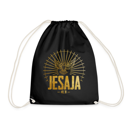 JESAJA 40, 31 (Motiv 2) - Turnbeutel
