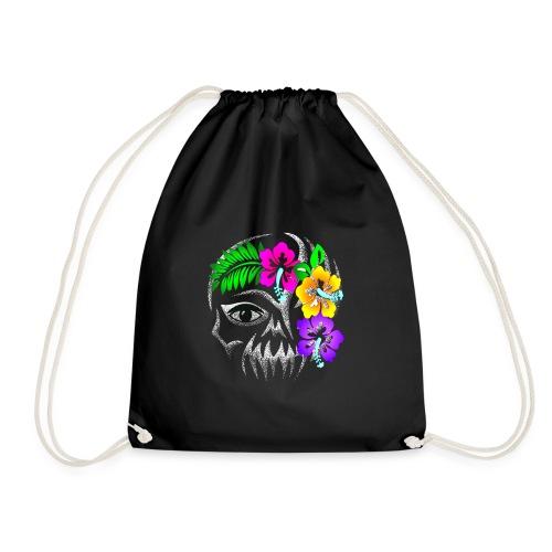 Alien Flower Skull - Turnbeutel
