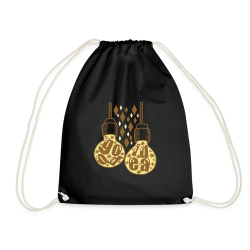 good idea bulb design - Drawstring Bag