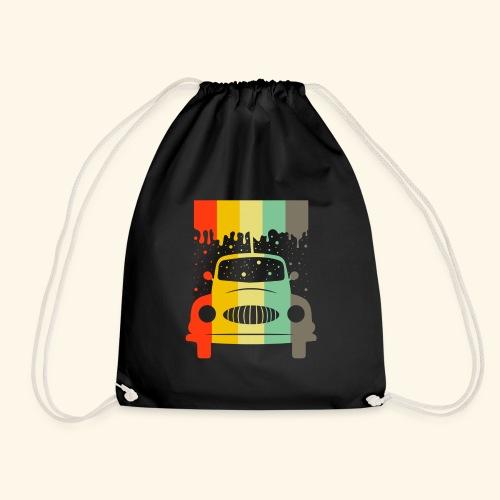 Retro Car Vintage Tee Men Women Gift Idea - Turnbeutel