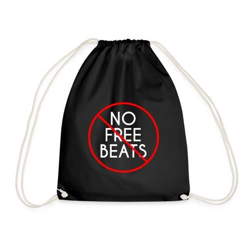 No Free Beats! - Drawstring Bag