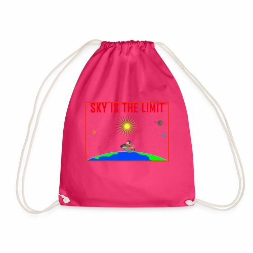 Sky is the limit - Drawstring Bag
