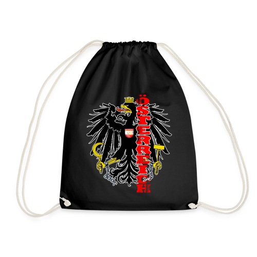 Österreich Wappen Adler Geschenk Heimat - Turnbeutel
