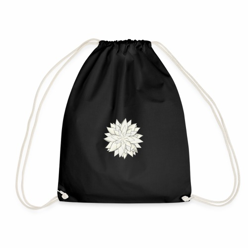 White Flower - Turnbeutel