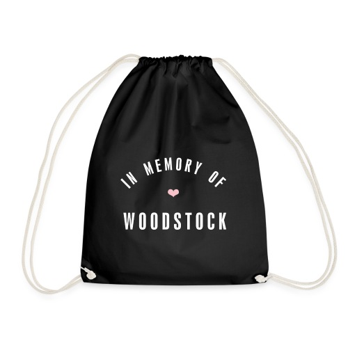 In MEmory of woodstock - Turnbeutel