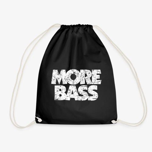 More Bass (Vintage/Weiß) Bassist Bassisten - Turnbeutel