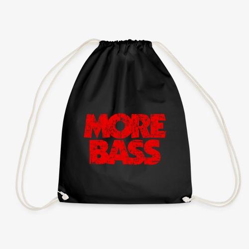 More Bass (Vintage/Rot) Bassist Bassisten - Turnbeutel