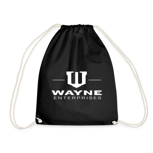 Batman Wayne Enterprises Logo - Turnbeutel