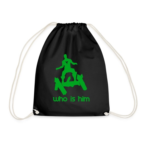 Who is that green man - Sac de sport léger