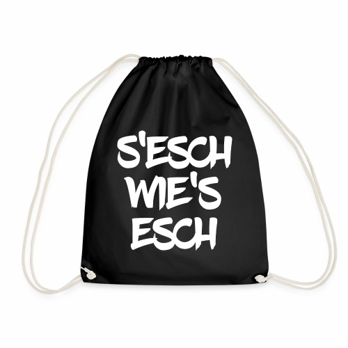 S'esch wie's esch W33 - Turnbeutel