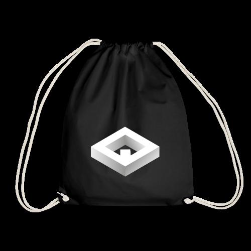 Black 3D Q-WHITE T-Shirt - Sacca sportiva