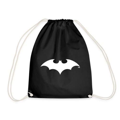 Batman White Bat Logo - Turnbeutel