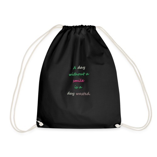 Say in English with effect - Drawstring Bag
