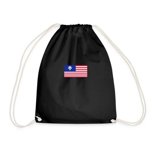 Football T-Shirt USA - Drawstring Bag