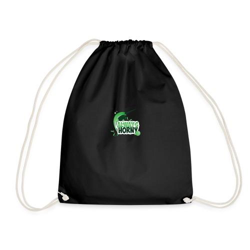 Always Horny - Drawstring Bag