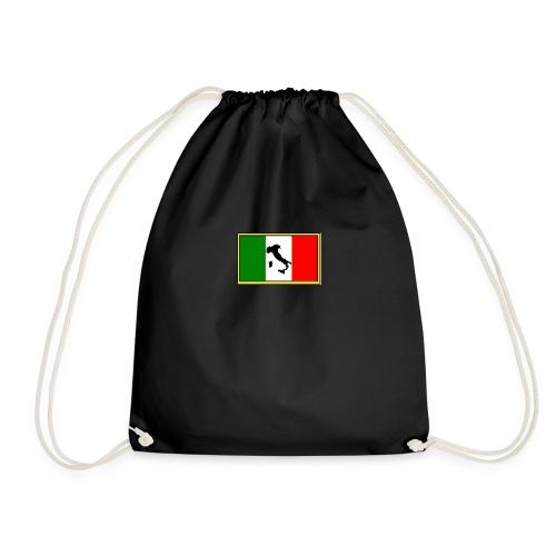 Bandiera Italiana2 - Sacca sportiva
