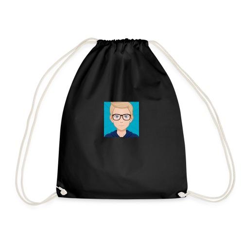 It's Crimsev Officail Profile Picture - Drawstring Bag