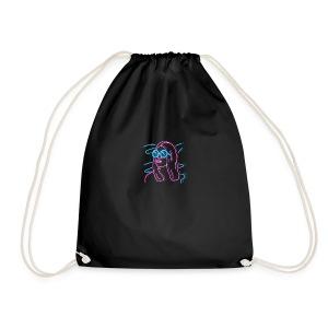 Girl Neon - Drawstring Bag