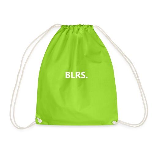 BLRS. wit logo - Gymtas