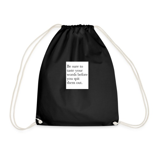 new life quotes - Drawstring Bag