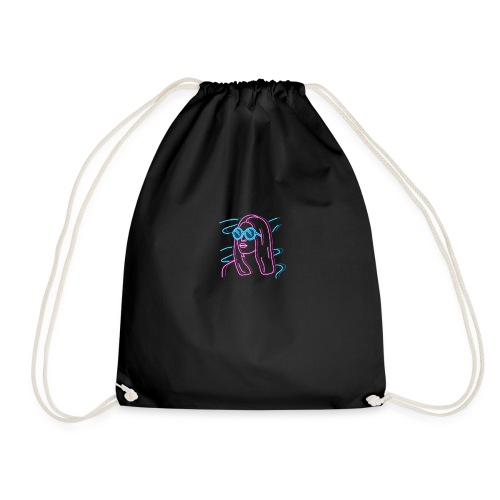 Girl Neon - Drawstring Bag