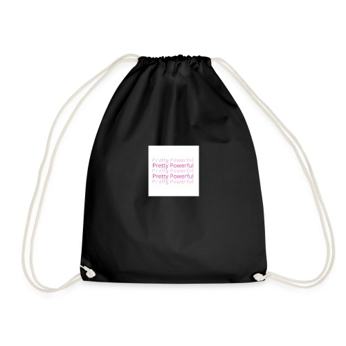 Pretty Powerful faded - Drawstring Bag