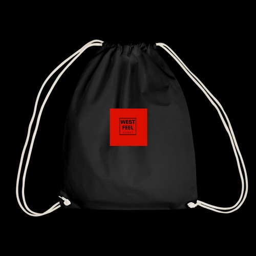 WEST FEEL logo rouge - Sac de sport léger