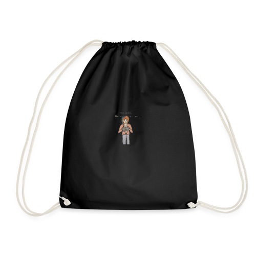 Free Alexia Design (Transparent) - Drawstring Bag