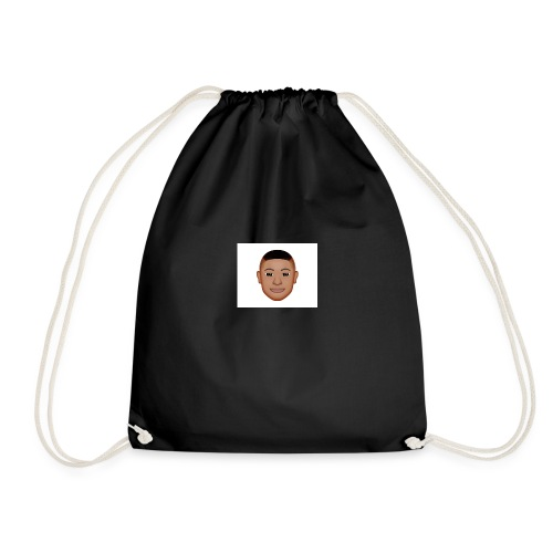 cool dude cam - Drawstring Bag