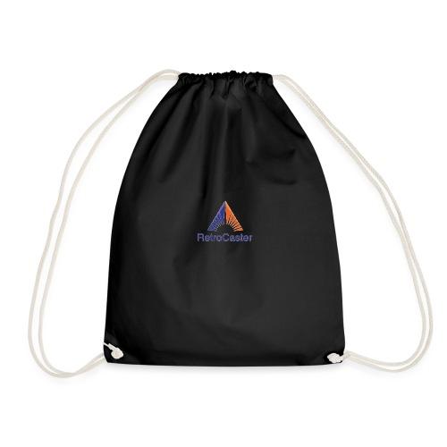RetroCaster YT Channel Logo - Drawstring Bag