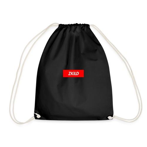 ZKILD box logo - Drawstring Bag