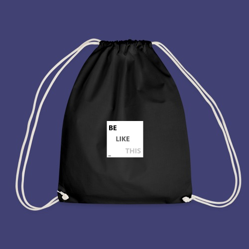 Be Like This - Mochila saco