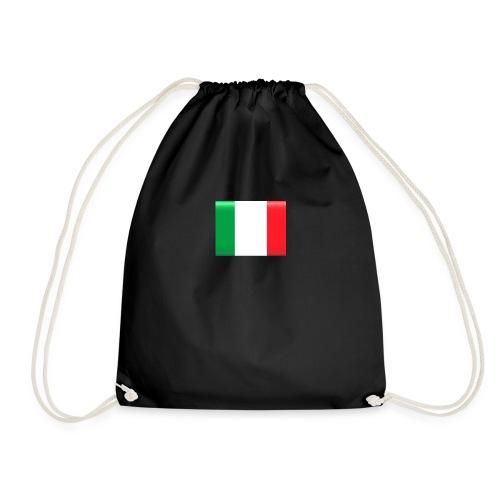 Muurprint wanddecoratie Vlag van Italie 03 jpg - Gymtas